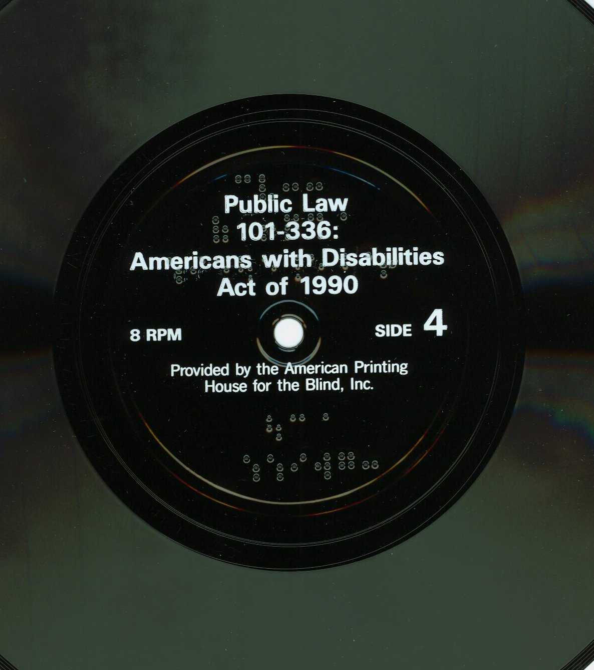 Americans with Disabilities Act of 1990 recording-1